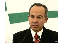 President Felipe Calderon