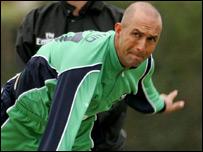 Ireland's Andre Botha