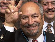 Saad Eddin Ibrahim, in 2003