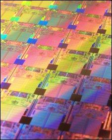 Processor dies, Intel