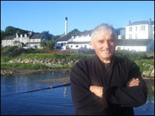 Willie MacDonald, chairman of the local community council