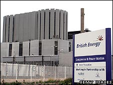 Nuclear power plant at Dungeness