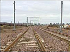 East coast railway line