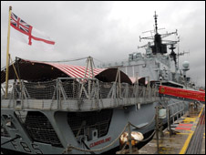 HMS Cumberland: Pic Royal Navy