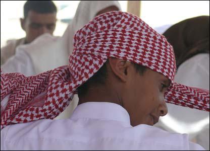Encuentro de familias beduinas en Shibana