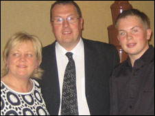 Catherine, Gary and James Procter