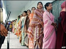 Bangladeshis voting on Monday