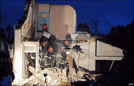 Tornado-hit deputy mayor's house in Hautmont, France