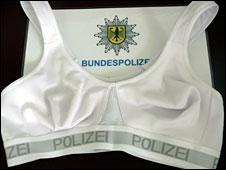 """Bullet-proof"" bra"
