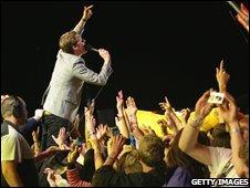 Kaiser Chiefs singer Ricky Wilson
