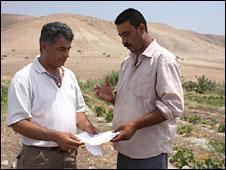 Fathy Khadarat (L) and Jasser Dergma