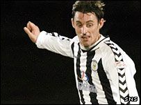 St Mirren's midfield ace Andy Dorman