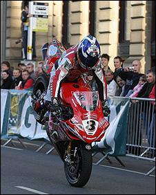 Superbike in Glasgow