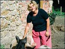 Rosie Boycott on farm