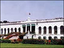 National Library in Calcutta