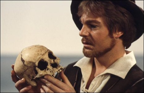 Derek Jacobi in a BBC adaptation of Hamlet