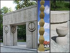 Tirgu Jiu memorials