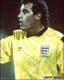Peter Shilton in the 1990 World Cup