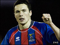 Inverness midfield star Don Cowie