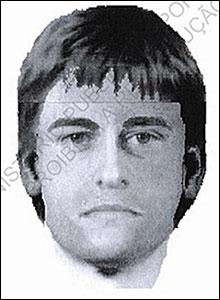 E-fit. Pic: Departmento de Investigacao Criminal de Portimao/PA Wire