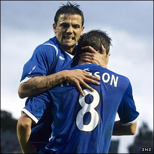 Nacho Novo and Kevin Thomson