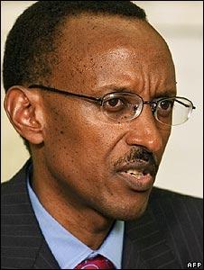 Rwanda's President Paul Kagame (file image 2006)