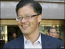 Yahoo chief executive Jerry Yang