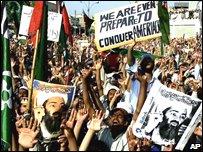 Pro Al-Qaeda demonstration