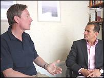 Frank Gardner interviews Nu'man bin Othman