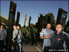 New Zealand's memorial in London opened in November 2006
