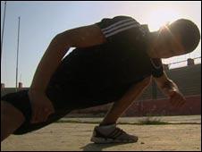 Bahawe at training