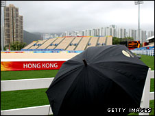 Rain and wind casts a cloud over Olympic preparations