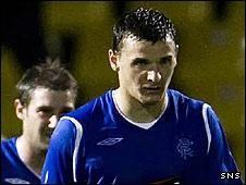 Rangers midfielder Lee McCulloch