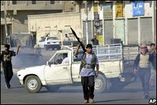 Mehdi Army members in Basra, August 2004