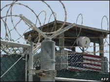 Guantanamo Bay in Cuba