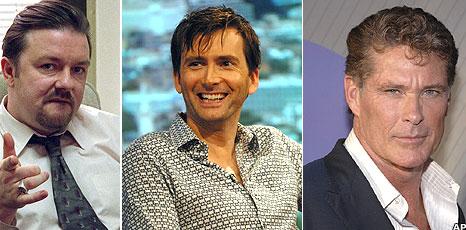 David Brent, David Tennant, David Hasselhoff