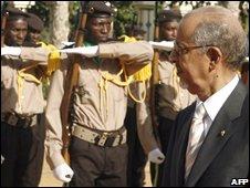 President Ould Cheikh Abdallahi, file image