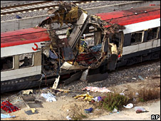 Aftermath of 2004 Madrid train bombing