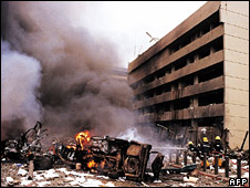 Aftermath of 1998 US embassy bombing in Nairobi, Kenya