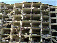 Aftermath of 1996 bombing of Khobar Towers, Saudi Arabia