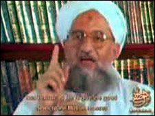 Ayman al-Zawahiri video from 2006