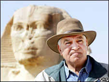 Zahi Hawass, file pic from March 2007