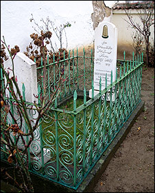 The grave of Sheikh Mehmed Sezai Shehu (image from February 2007)