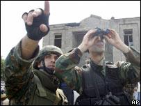 Перестрелка на границе Грузии и Южной Осетии