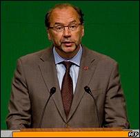 Peter Piot, director ejecutivo de ONUSIDA