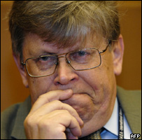 نائب رئيس الوكالة الدولية للطاقة النووية أوللي هاينونين