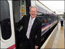 Transport Minister Stewart Stevenson