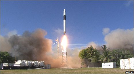 Falcon 1 launch (SpaceX)