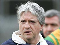 Donegal manager Brian McIver