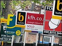 Carteles de venta de casas